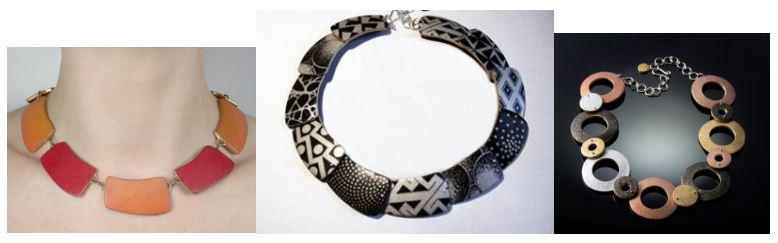 Louise-Fischer-Cozzi Apostrophe Necklaces