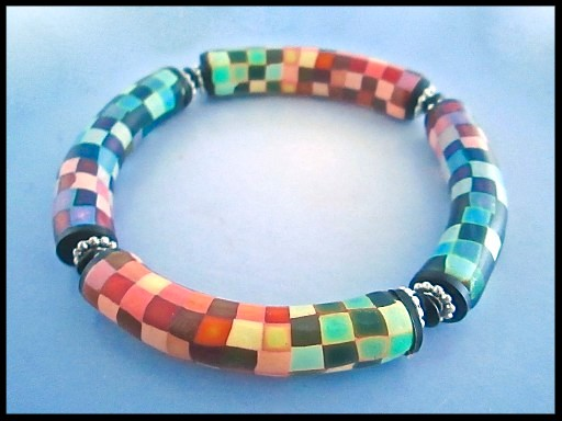 Deb Hart Pixel Bangle Demo