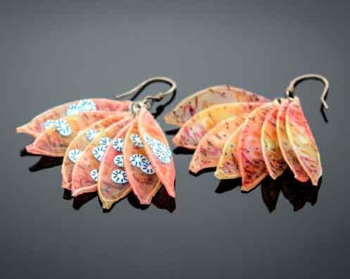 translucent earrings class by Anke Humpert